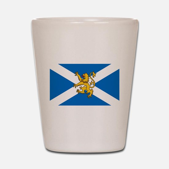 Flag of Scotland - Lion Rampant Shot Glass