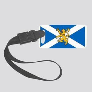 Flag of Scotland - Lion Rampant Small Luggage Tag