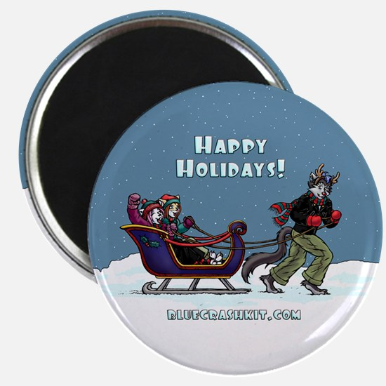BCK Happy Holidays Magnet