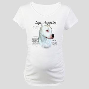 Dogo Argentino Maternity T-Shirt