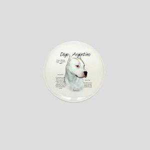 Dogo Argentino Mini Button