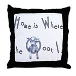 Home IS Where Throw Pillow