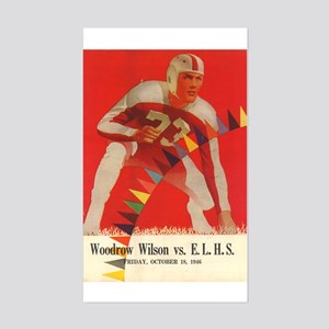 Woodrow Wilson Rectangle Sticker