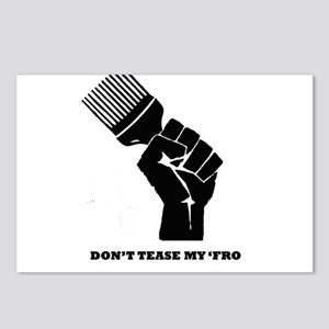 Don't Tease My FRO Postcards (Package of 8)