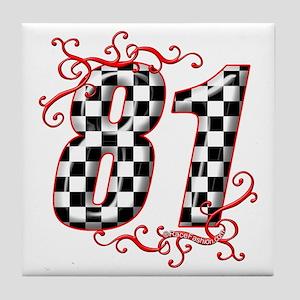 RaceFashion.com 81 Tile Coaster