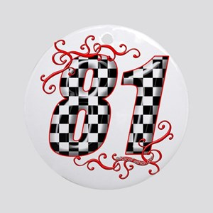 RaceFashion.com 81 Ornament (Round)