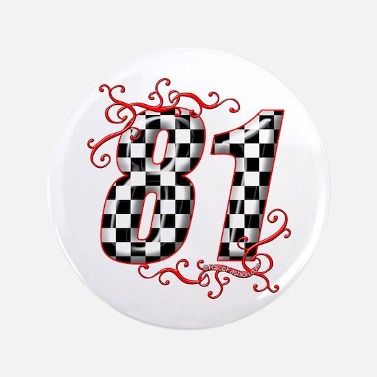 """RaceFashion.com 81 3.5"""" Button"""