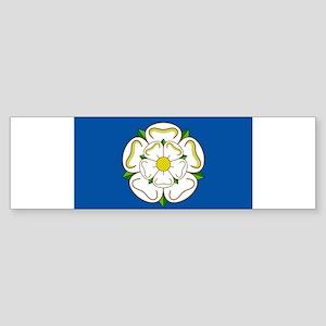 Flag of Yorkshire Bumper Sticker