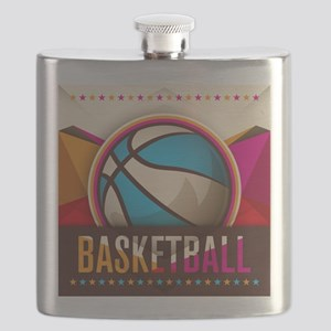 Basketball Sport Ball Game Cool Flask
