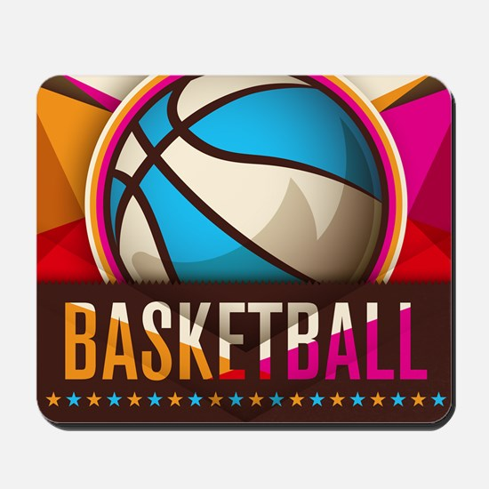 Basketball Sport Ball Game Cool Mousepad