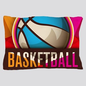 Basketball Sport Ball Game Cool Pillow Case