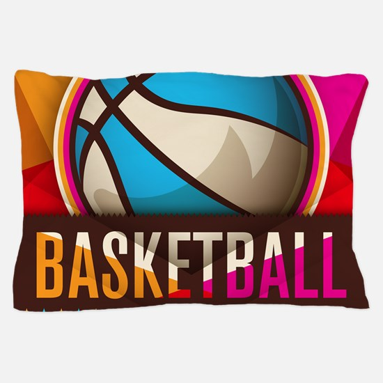 Basketball Sport Ball Game Cool Pillow Case