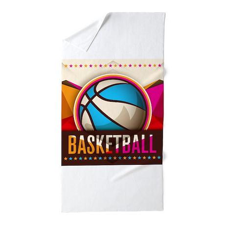 Basketball Sport Ball Game Cool Beach Towel By Admin Cp79877276