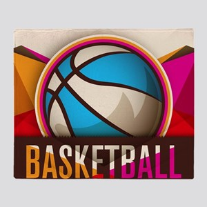 Basketball Sport Ball Game Cool Throw Blanket