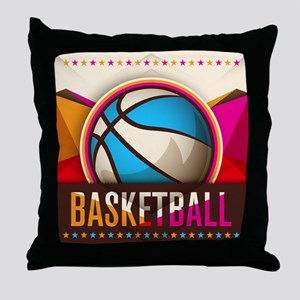 Basketball Sport Ball Game Cool Throw Pillow