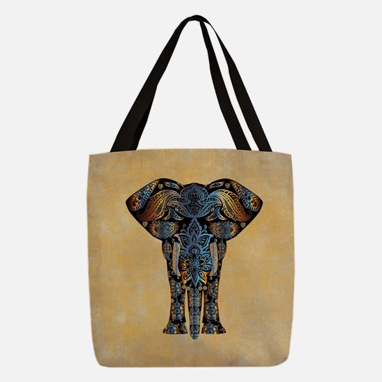 ELEPHANT Polyester Tote Bag