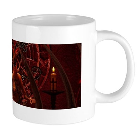 The beautiful dark fairy Mugs