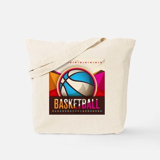 Basketball Sport Ball Game Cool Tote Bag