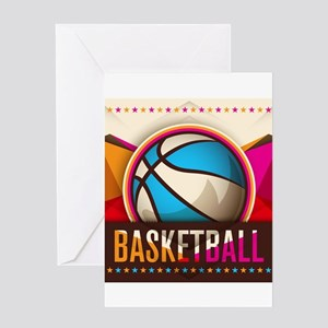 Basketball Sport Ball Game Cool Greeting Cards