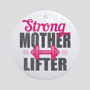 Mother Lifter Round Ornament