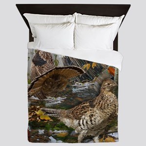 Ruffed Grouse Queen Duvet