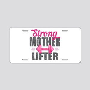 Mother Lifter Aluminum License Plate