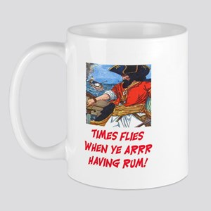 TIME FLIES WHEN YE ARR HAVING RUM Mug