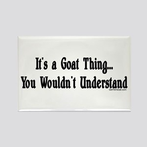 A Goat Thing Rectangle Magnet