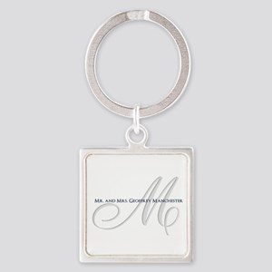 Elegant Name and Monogram Keychains