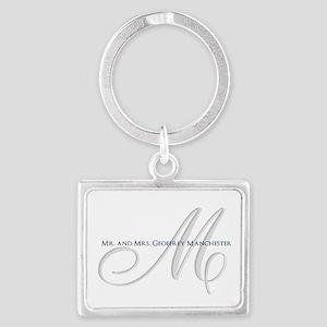 Elegant Name and Monogram Keychains