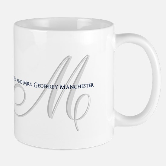 Elegant Name and Monogram Mugs