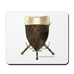 Knight Templar Shield Mousepad