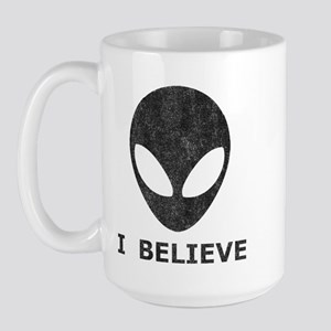 Vintage Alien (I Believe) Large Mug