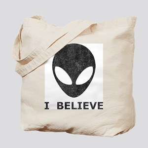Vintage Alien (I Believe) Tote Bag