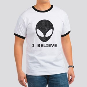 Vintage Alien (I Believe) Ringer T