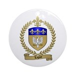 LAGACE Family Crest Ornament (Round)