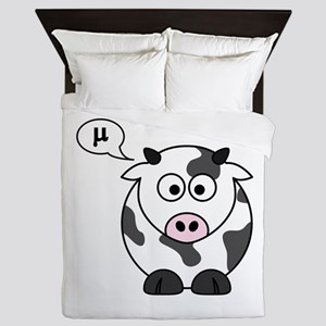 cow says mu Queen Duvet