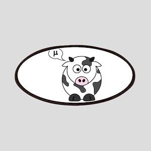 cow says mu Patch