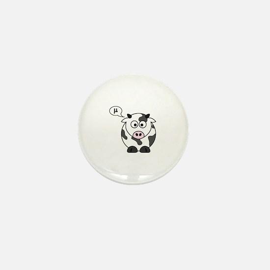 cow says mu Mini Button