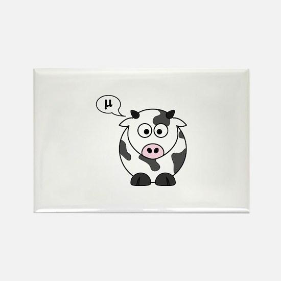 cow says mu Magnets