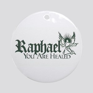 Archangel Raphael Round Ornament