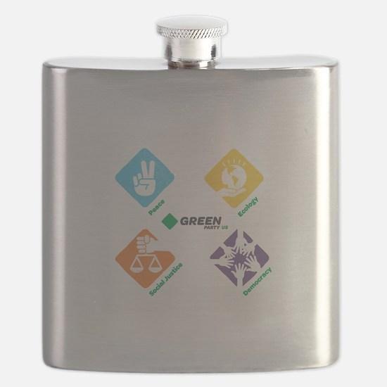 Cute Environmentalist Flask