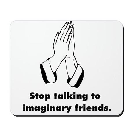 Funny Anti-Religion T-shirts Mousepad