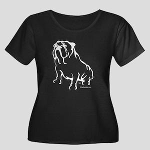 bw-logo-lg-w Plus Size T-Shirt