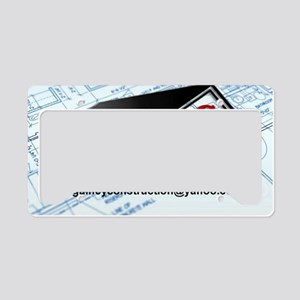 Gainey Remodeling License Plate Holder