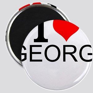 I Love Georgia Magnets