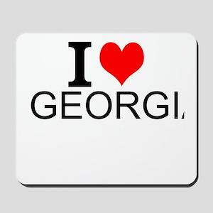 I Love Georgia Mousepad