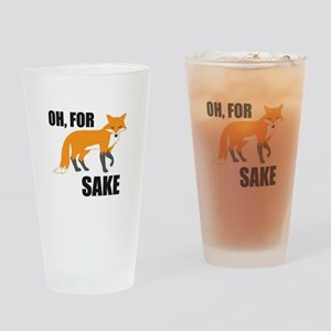 Oh For Fox Sake Mug Drinking Glass
