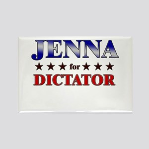 JENNA for dictator Rectangle Magnet