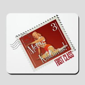 Merry Kitschmas Stamp Mousepad